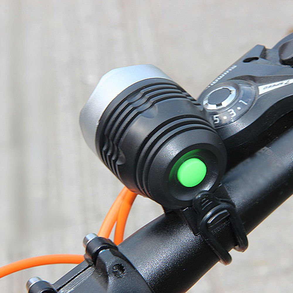3000 LM XML T6 USB Interface LED Bike Bicycle Light Headlamp Headlight 3 Modes