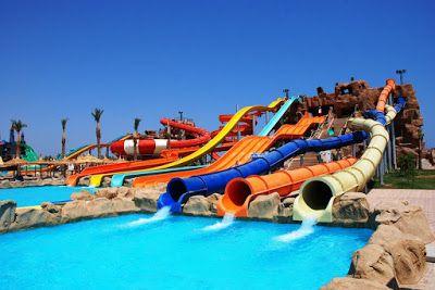 افتتاح اضخم اكوا بارك فى الشرق الاوسط الباتروس أكوا بارك 19 مايو بشرم الشيخ Sharm El Sheikh Water Slides Water Park