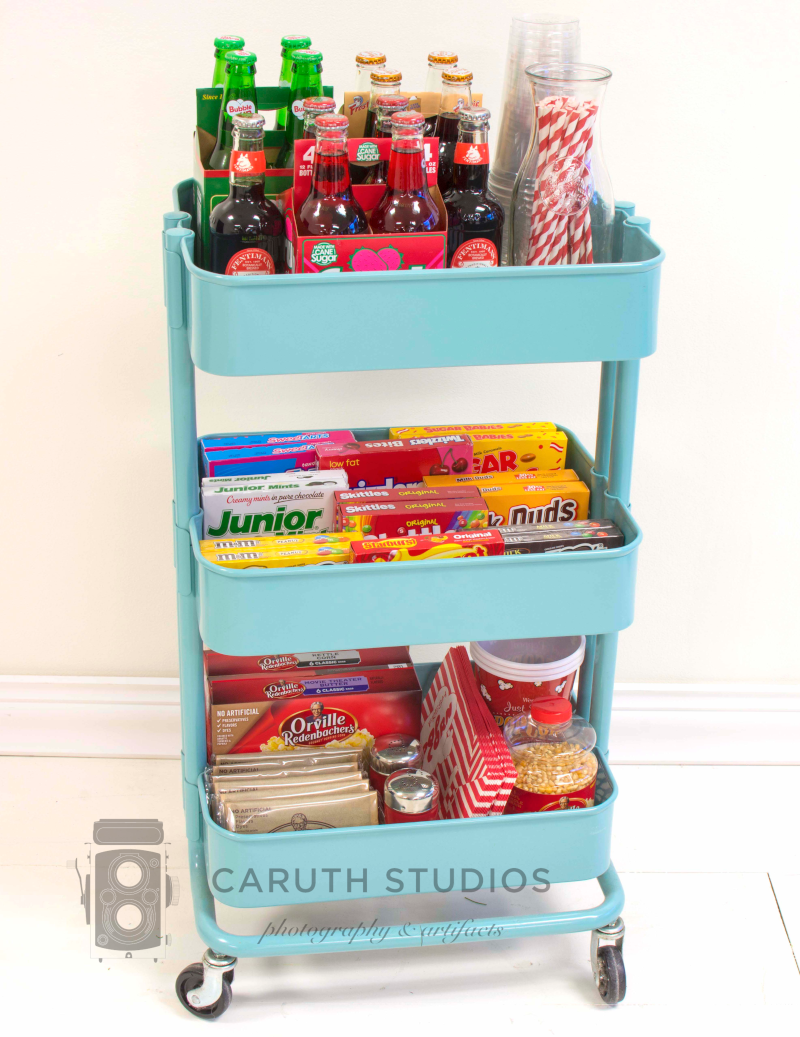 Entertaining Ideas A MovieNight Concession Stand