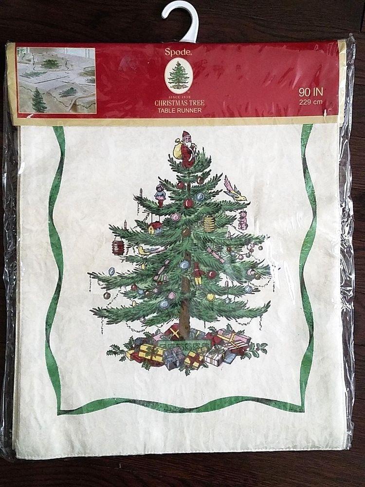 Nwt Spode Christmas Treen 90 Inch Table