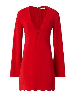 A.L.C. Eve Scalloped Dress