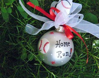 baseball christmas bulb - Google Search | DIY | Pinterest