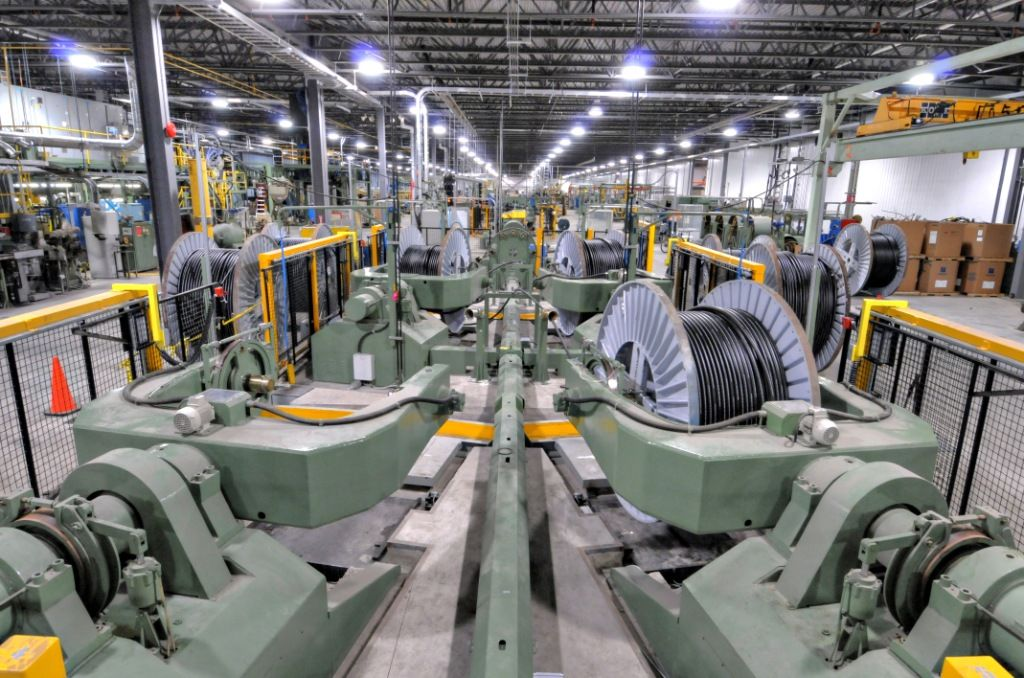 Prysmian Group 39 S Prescott Plant In Canada Factories