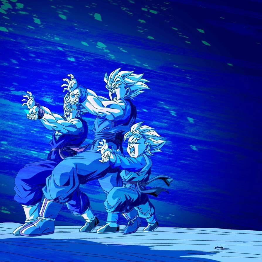 Family Kamehameha Bg 3 Db Legends By Maxiuchiha22 Anime Dragon Ball Super Dragon Ball Art Dragon Ball Artwork