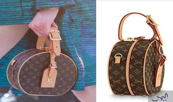 حقيبة لويس فيتون الدائرية تعتبر إضافة مميزة لأناقة المرأة Louis Vuitton Monogram Vuitton Louis Vuitton