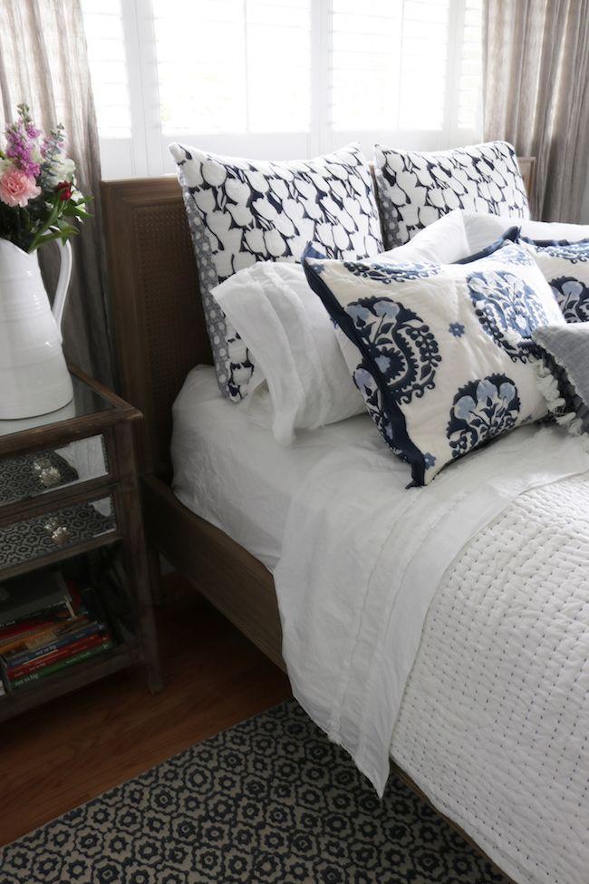 Master Bedroom Makeover - neues Bett, Teppich  Bettwäsche! Design