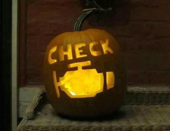 Honda Palo Alto >> Check Engine Light Pumpkin. #CEL #Pumpkin #Halloween ...