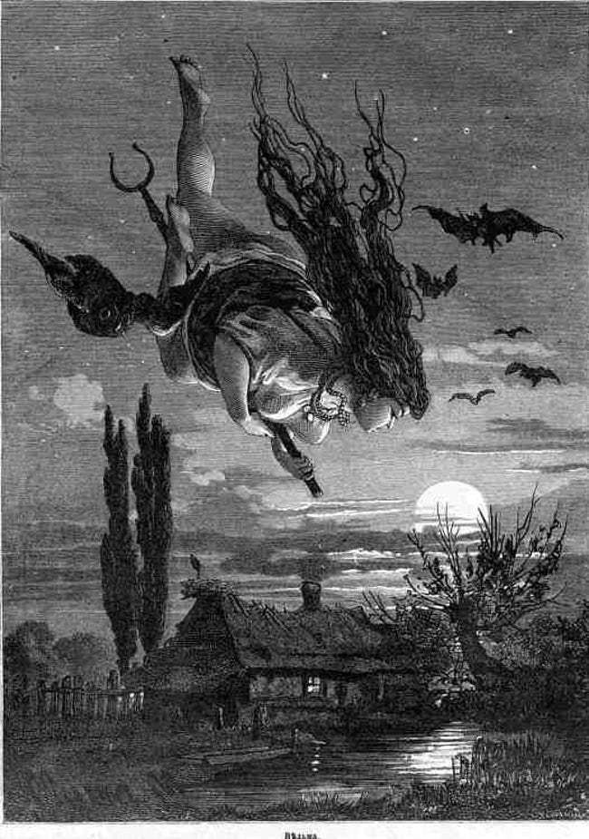 Photo of Hulda the Witch is listed (or ranked) 10 on the list 10 Horrifying True Stories …