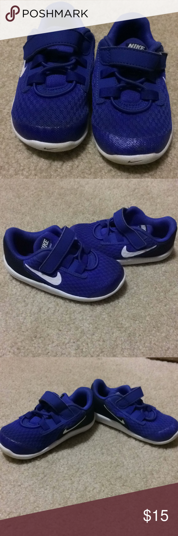 11624eec1cd Toddler Nike Coverage Tennis Shoe size 7 Excellent pair of Nike Coverage  Toddler boy it girl tennis shoe size 7 in great condition.