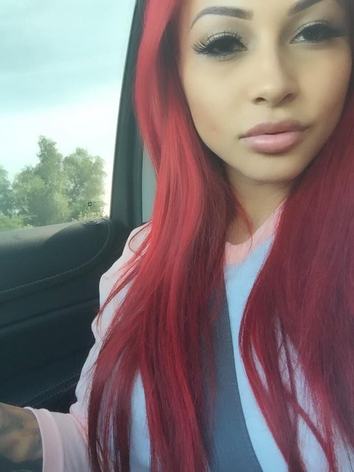 Burgundy Human Hair Full Lace Wigs