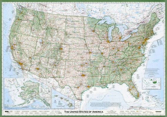 Map Of America Oregon.How One Guy In Oregon Made The Best U S Map You Ll Ever See
