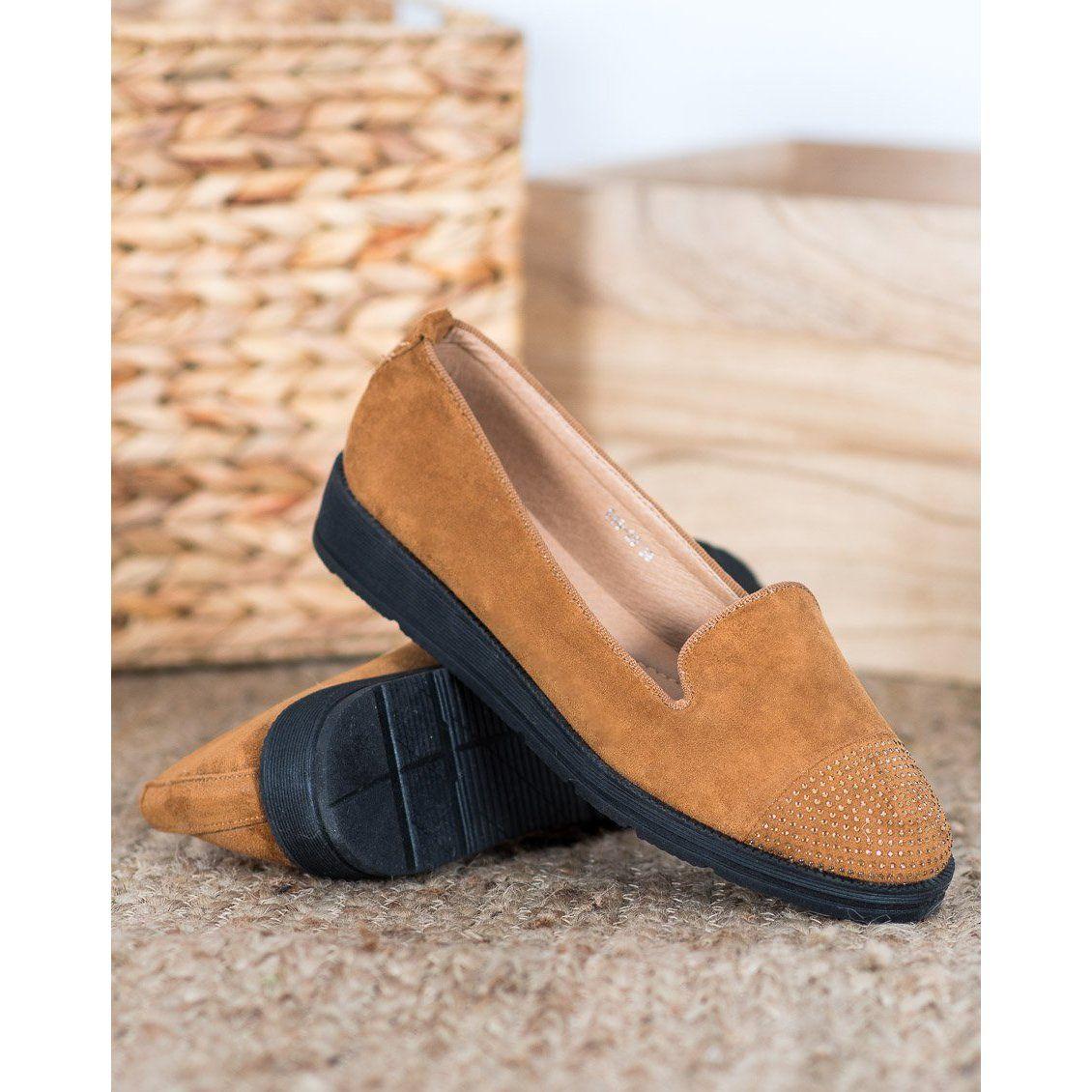 Sixth Sense Lordsy Na Platformie Brazowe Dress Shoes Men Loafers Men Oxford Shoes