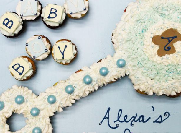 How To Make A Cupcake Cake For Baby Shower