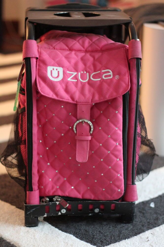 Details About Zuca Sports Insert Bag Pink Oasis No