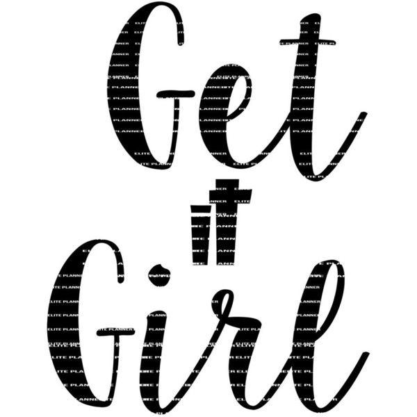 Get it Girl SVG, Funny Svg, Vector Cutting File, Cutting Files, Word... (20 SEK) ❤ liked on Polyvore featuring home and home decor
