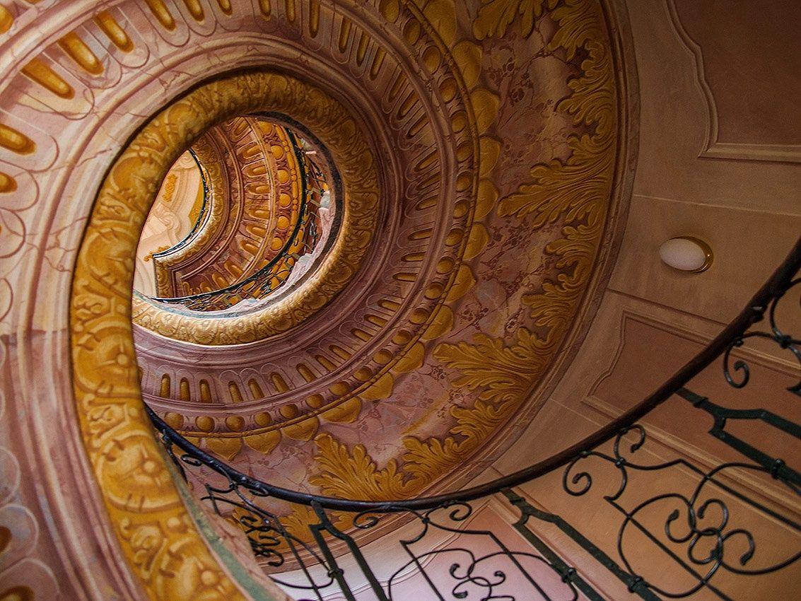 Stairway, Austria, Museum by David  Solodar
