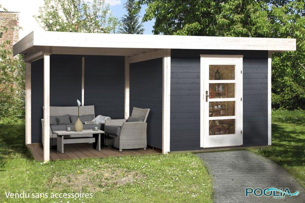 Abri Jardin Bois Lounge 3 avec extension - WEKA | abris jardin ...