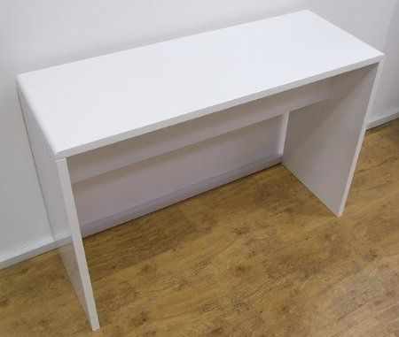 Stunning Full High Gloss White Modern Classic Console Hall