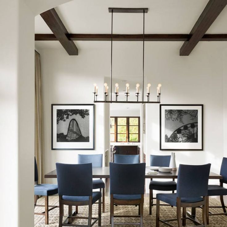 16 Absolutely Gorgeous Mediterranean Dining Room Designs: Room Redo: Contemporary Classic Dining Room Design With