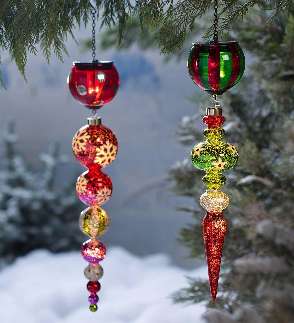 christmas outside solar lights