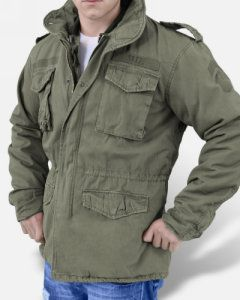 Surplus Regiment M65 Washed Olive Chaqueta Militar