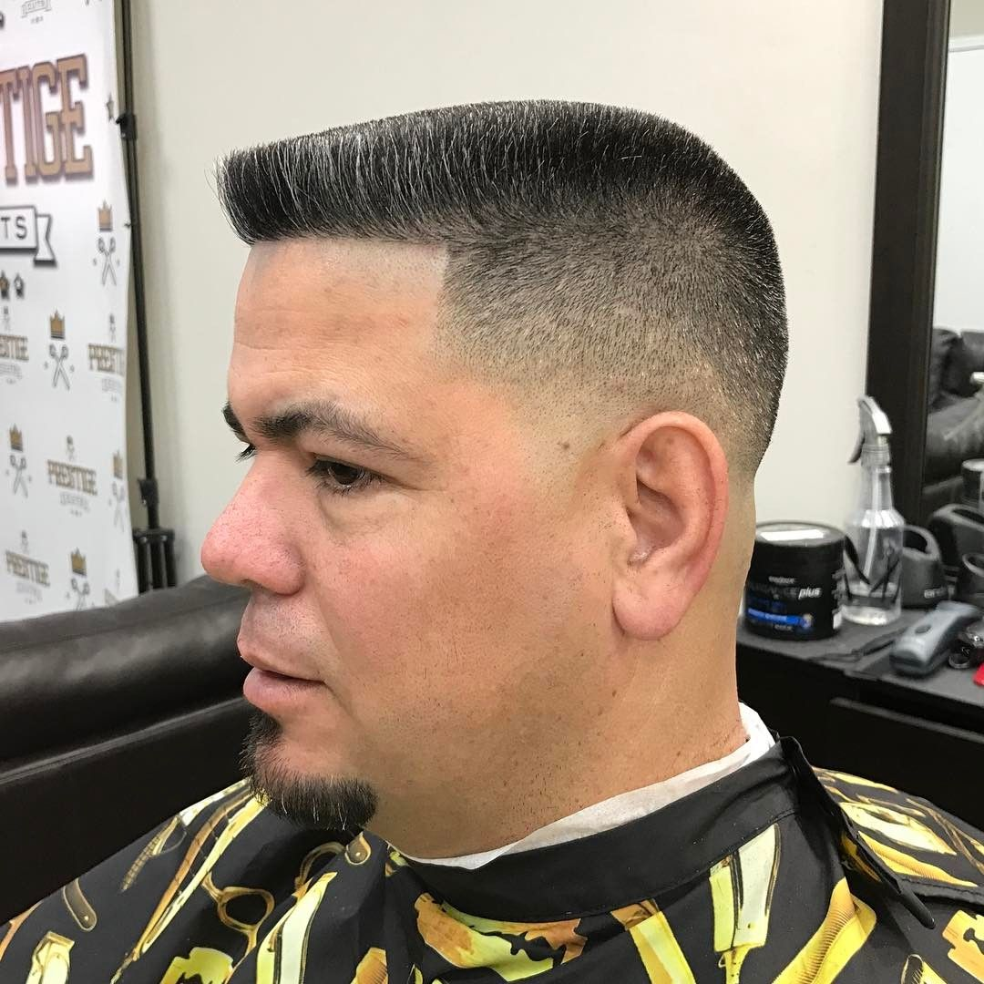 Pin By Macho Hairstyles On Barbers Pinterest Flat Top Haircut