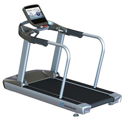 Nautilus Cardio T10 Bariatric Medical Grade Treadmill With Handrails Bariatric Cardio Treadmill