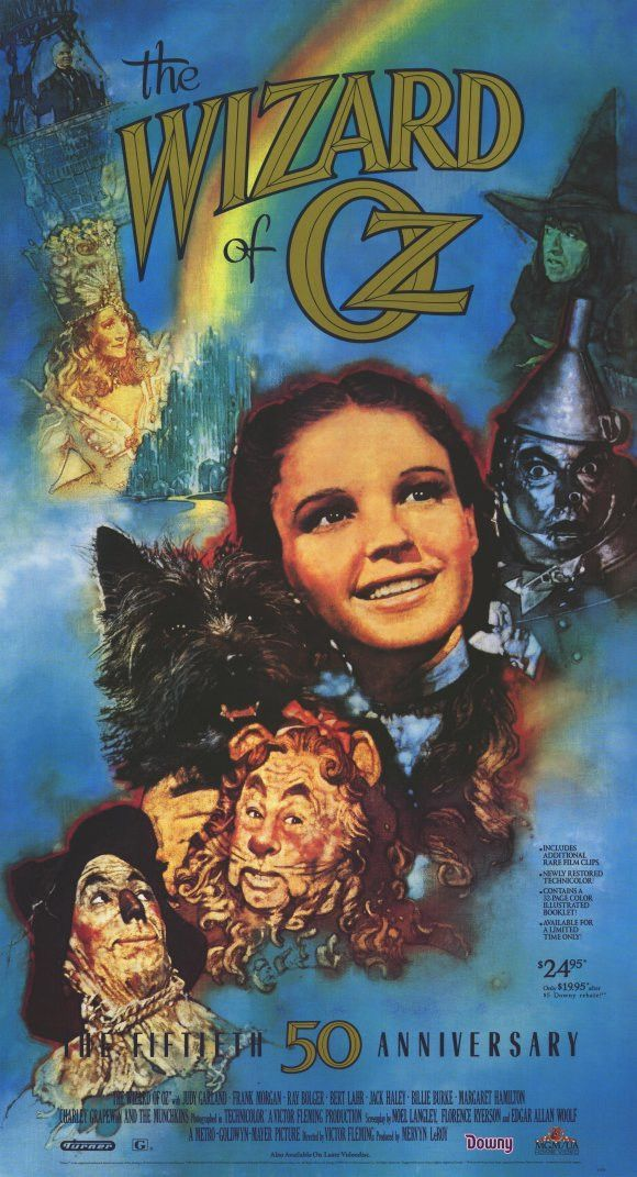 The Wizard of Oz 11x17 Movie Poster (1989) Wizard of oz
