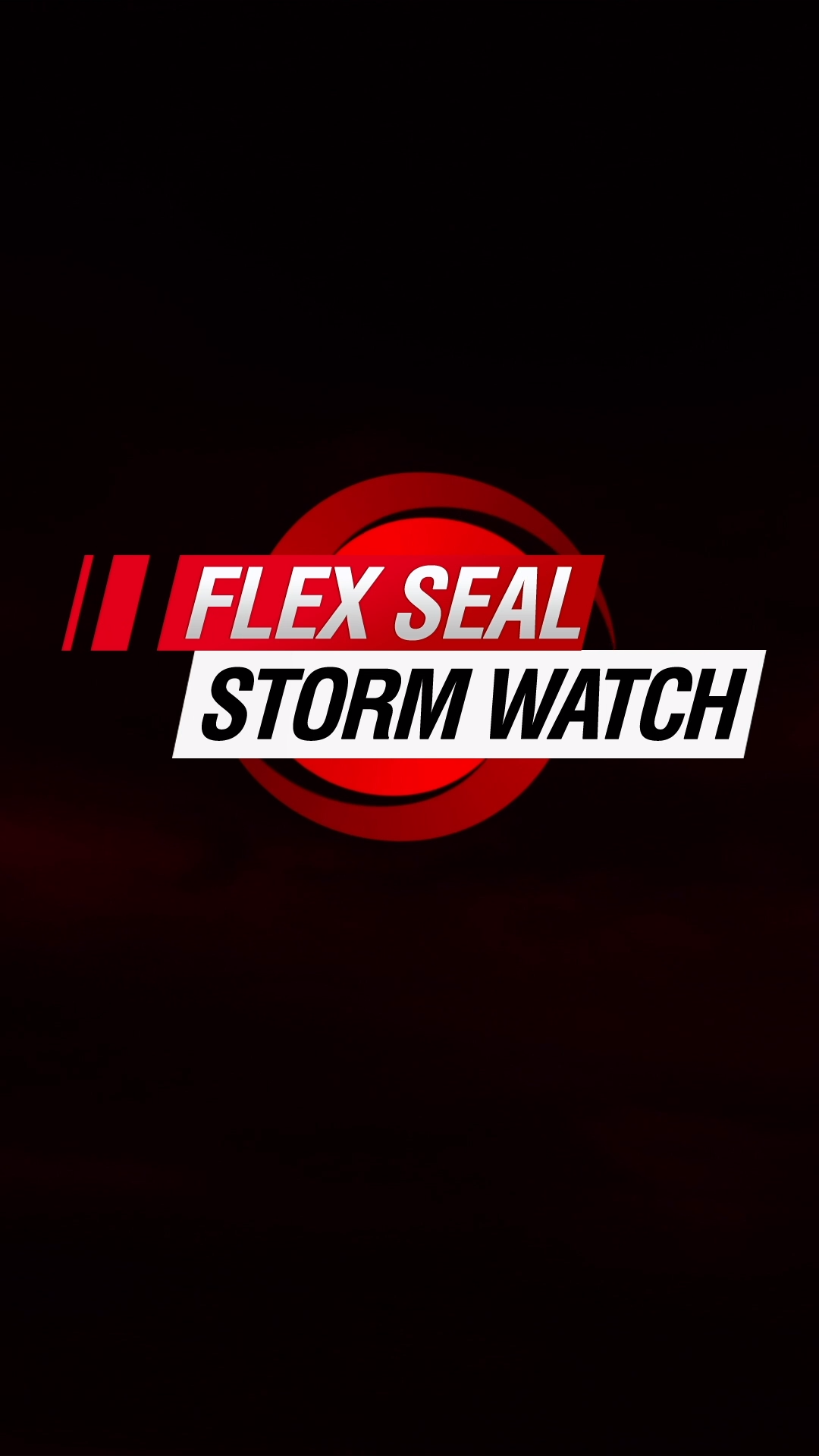 Prepare For Storm Season With The Flex Seal Family Of Products Video In 2020 Seal Flex Singing Videos