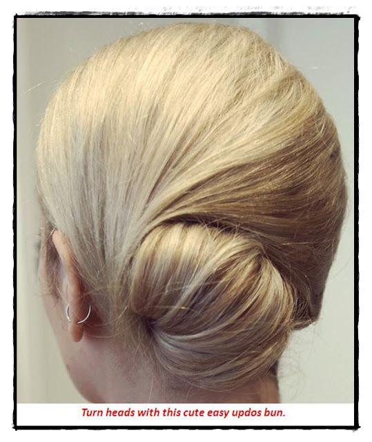 cute easy updos for medium hair | hair | Up dos for medium ...