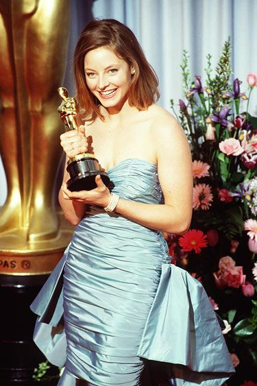 """Jodie Foster- Best Actress 1988 for """"The Accused ..."""