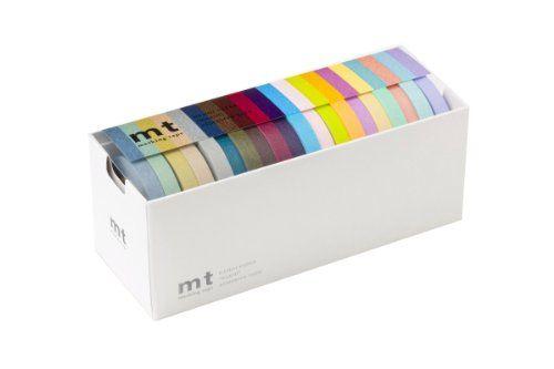 Mt Washi Masking Tapes 7MM×15M Set of 20 20 colors (sour color, bright color) Mt,http://www.amazon.com/dp/B003OZ41B2/ref=cm_sw_r_pi_dp_9Fh5sb0ZBTF933NP