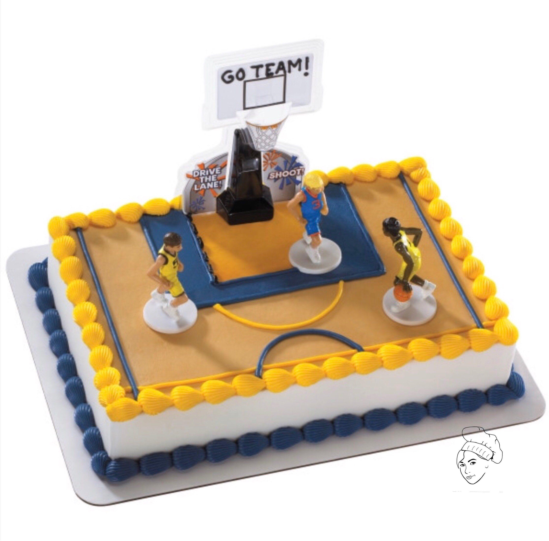 Basketball Cake Topper Basketball Cake Cake Decorating Kits Order Cake