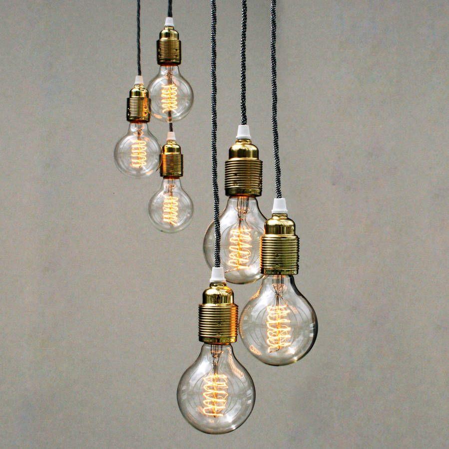 Set of three bulb pendant lights pendant lighting bulbs and pendants set of three bulb pendant lights mozeypictures Gallery
