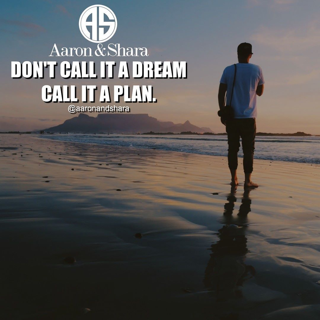Don't Call It  A Dream Call It A Plan!  #Thursday  Follow @aaronandshara Follow @aaronandshara  Follow @aaronandshara  Don't be rude type YES Below If You Agree:)! Double tap and tag someone you know will benefit!