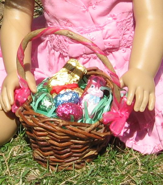 A Doll for all Seasons: Easter Basket- doll sized!