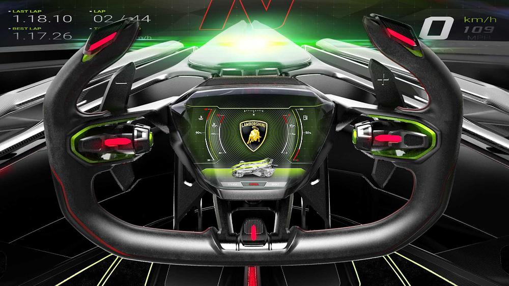 Lambo V12 Vision Gran Turismo Unveiled As The Best Virtual Car Ever Lambo Car Turismo