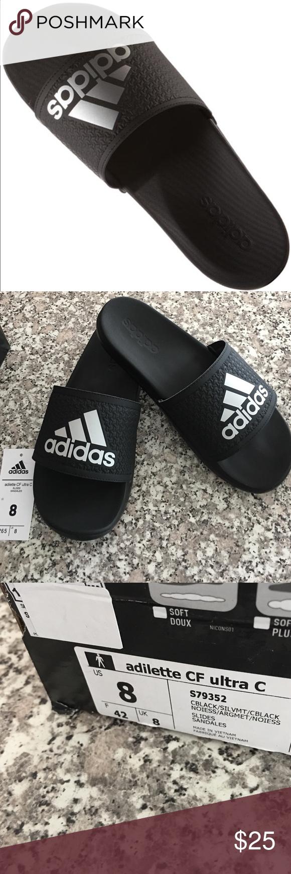 6fbce68509bd96 Men s Adidas slides. New in BOX 📦 adidas Mens Adilette Supercloud Plus  Slides Slip on