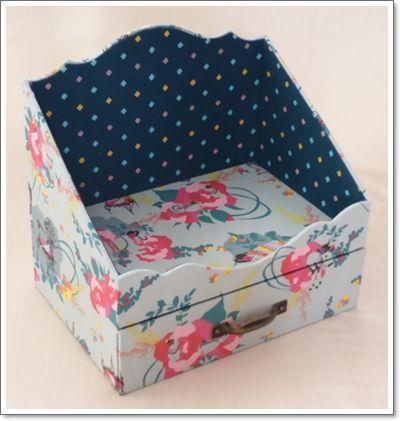 Decorative Stationery Boxes Prepossessing Pinmy Cherry On I Like It  Pinterest  Box Atelier And Decoupage Design Inspiration