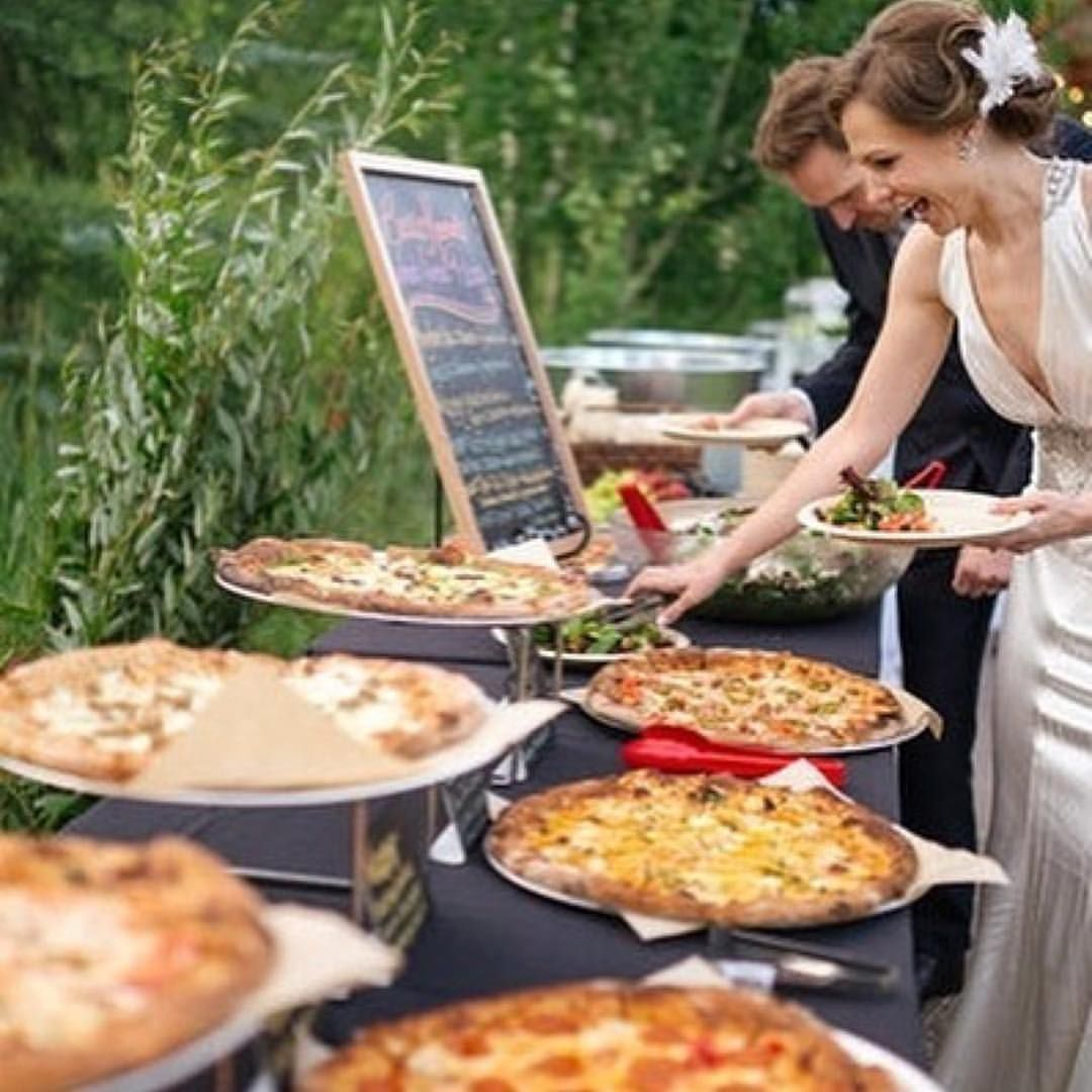 Pizza Wedding Reception Ideas: #Repost @pizza With @get_repost ・・・ Less Shrimp Cocktails