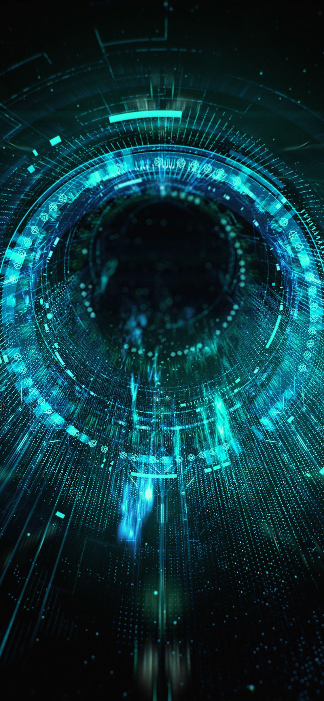 Iphonexpapers Com Apple Iphone Wallpaper Ba02 Circle Blackhole