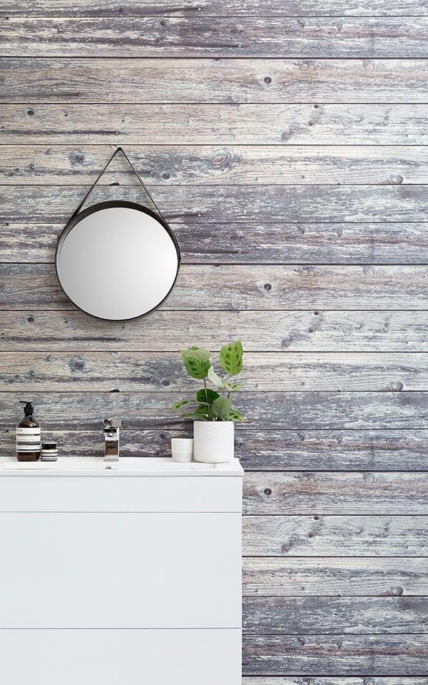 Hervorragend Erstellen Sie Einen Modern Rustikalen Raum Bad Mit Wirklich Einzigartigen  Rustikalen Tapeten, Die Natürlichen