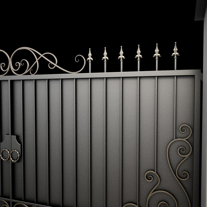 Max Wrought Iron Gate Sean In 2019 Wrought Iron Gates Wrought
