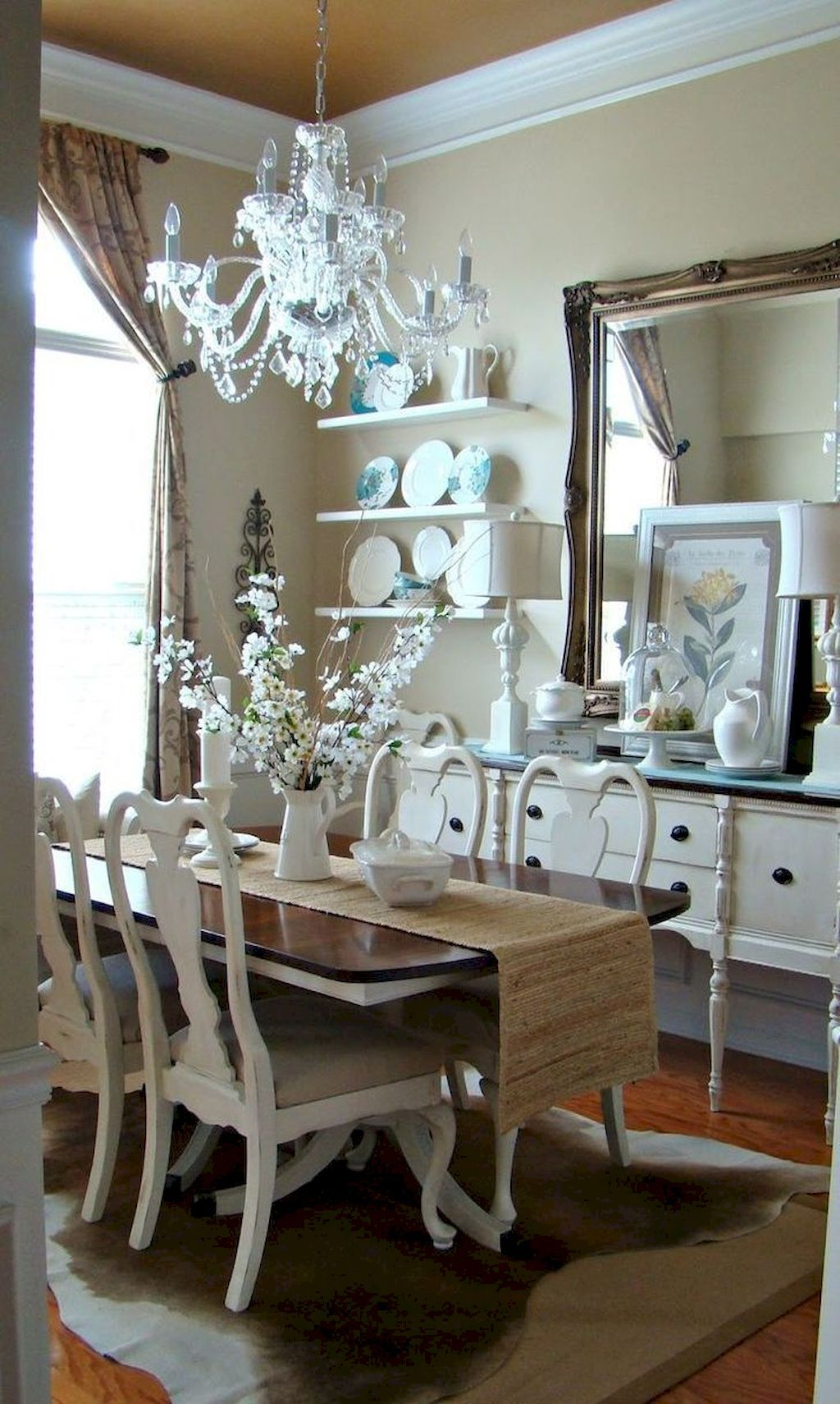 55 Modern French Country Dining Room Table Decor Ideas  Dining Glamorous French Country Dining Room Decorating Ideas Decorating Inspiration