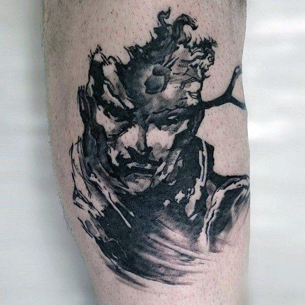 50 Metal Gear Tattoo Designs For Men Gaming Ink Ideas Tatoo
