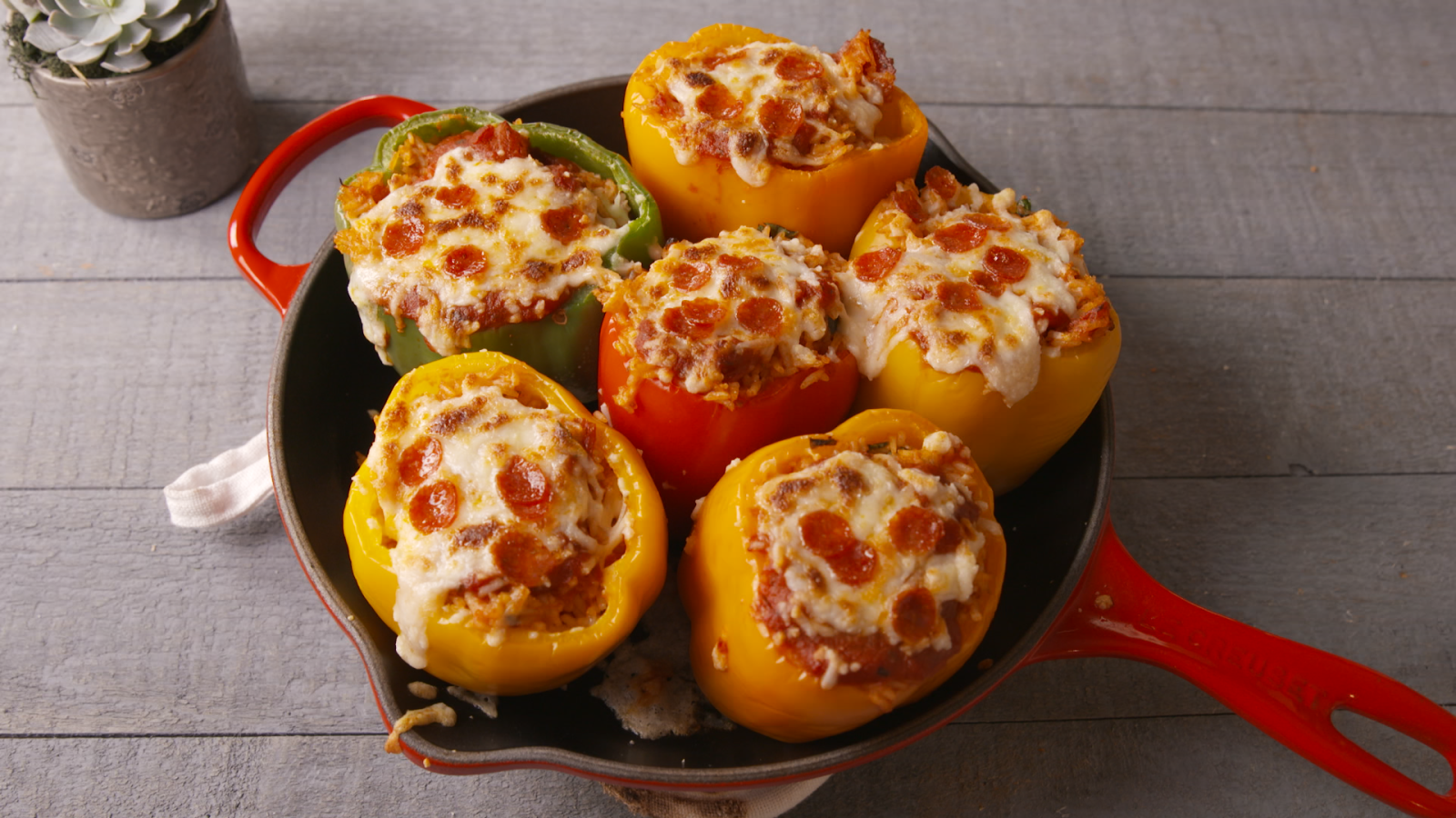 Pizza Stuffed Peppers Recipe Stuffed Peppers Recipes Peppers Recipes