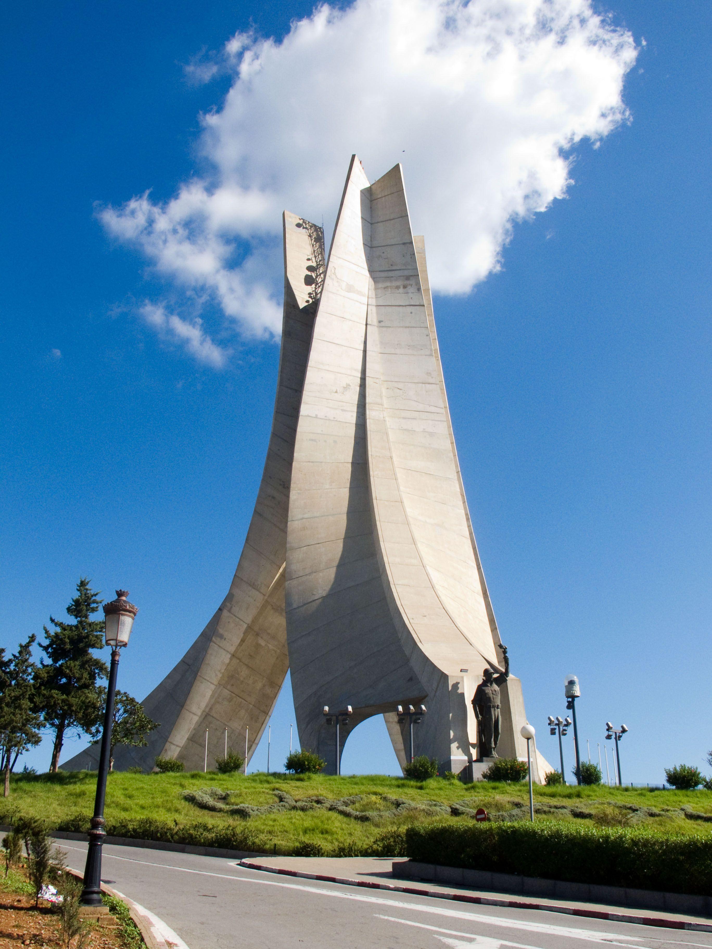 The Martyrs Monument Algiers Algeria Monumental Architecture