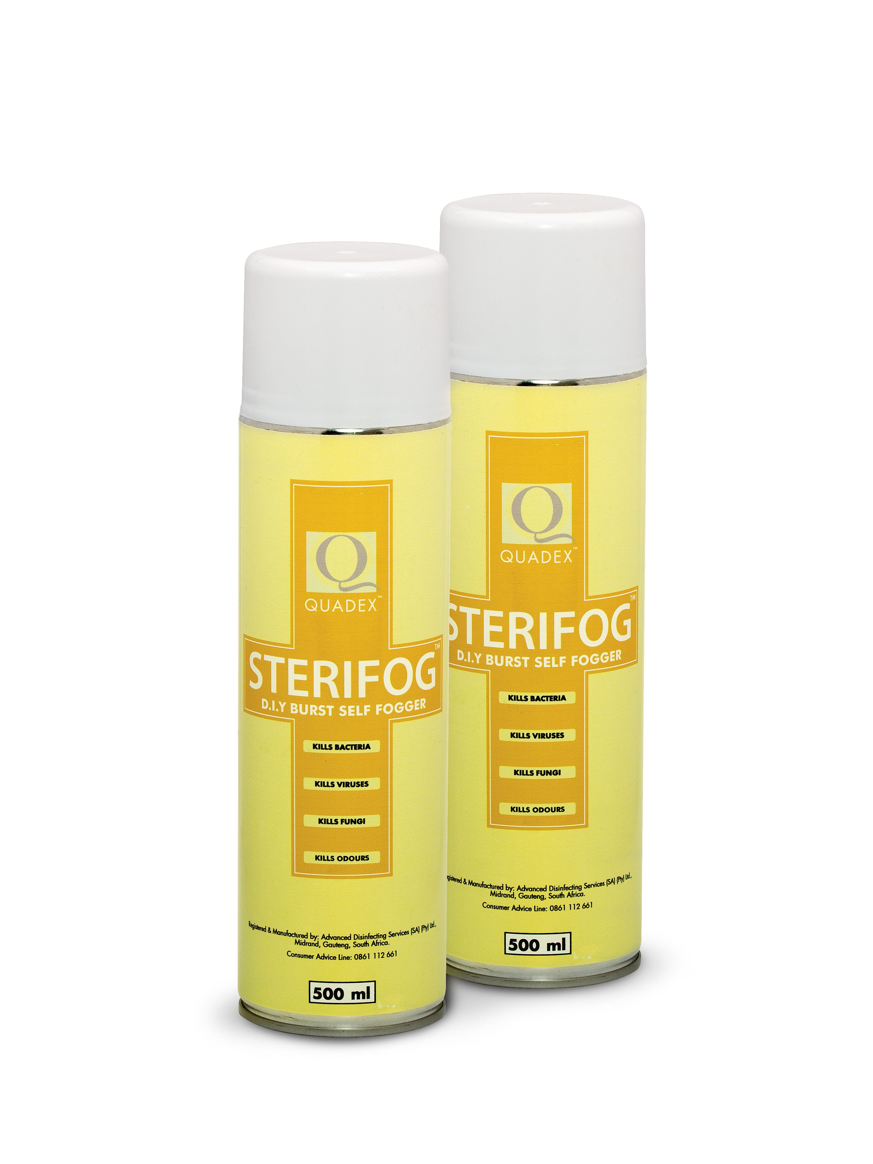 Sterifog Burst Fogger For Areas Where Normal Cleaning And
