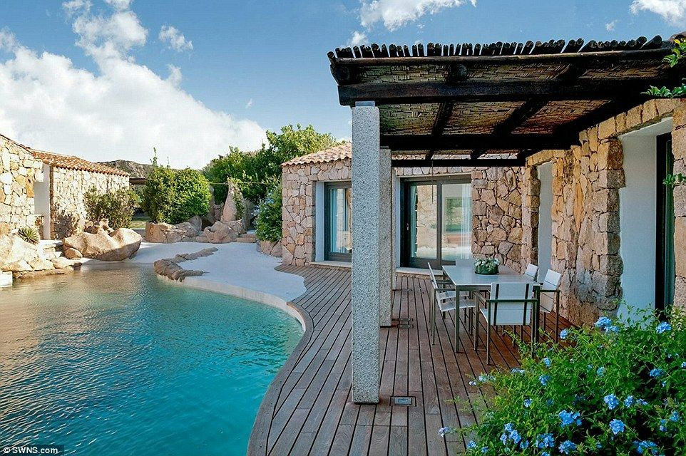 Located On The Island Of Sardinia, Villa Amoras Boasts A Swimming Pool That  Flows Under A Glass Floor In The Living Room. It Is Set In An Exclusive  Area In ...
