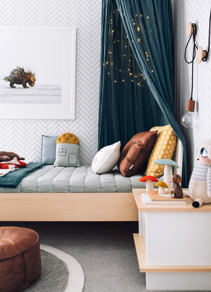 Oh Eight Oh Nine | Chetu0027s new bedroom featuring our Numero 74 Cotton Canopy in Ice & Oh Eight Oh Nine | Chetu0027s new bedroom featuring our Numero 74 ...